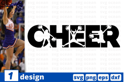 1 CHEER, cheer quote cricut svg