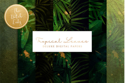 Tropical Leaves & Jungle Backgrounds