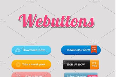 Webbuttons