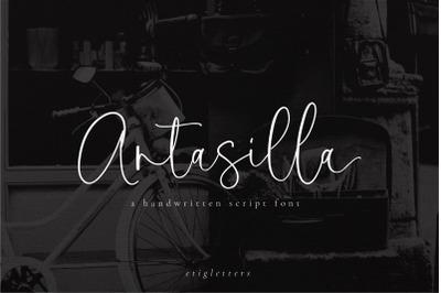 Antasilla - Handwritten Font