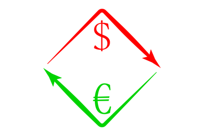 Currency exchange USD EUR