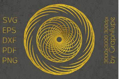 Simple Tribal Mandala cut file SVG no.11