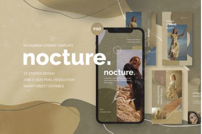 Nocture - Instagram Stories Template