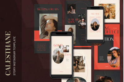 Calesthane - Fashion Instagram Stories Template