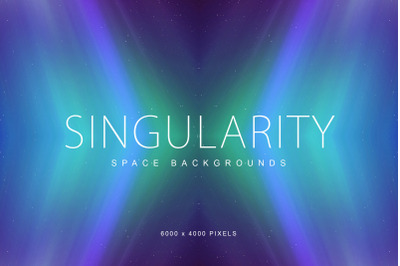Singularity Space Backgrounds