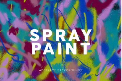Spray Paint Abstract Backgrounds 3