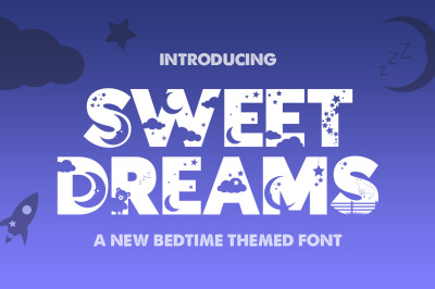 Sweet Dreams Silhouette Font