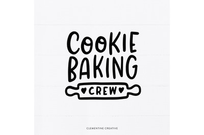Cookie Baking Crew SVG | Christmas Baking SVG | Christmas T-Shirt SVG