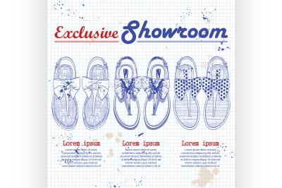 Vector showroom set