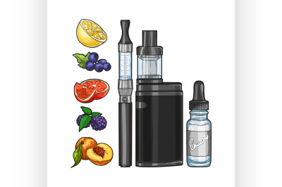 Vector set e-cigarette