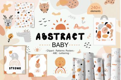 Abstract Shapes & Baby Animals Set
