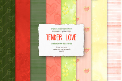 Tender digital backgrounds