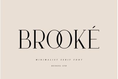 Brooke Serif