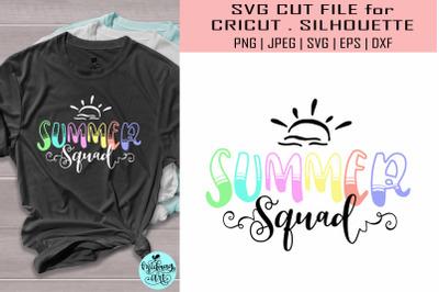 Summer squad svg&2C; summer svg