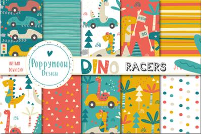 Dino Racers paper