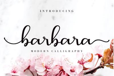 Barbara Calligraphy