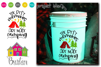The Best Memories are made Camping SVG | Camping SVG Files