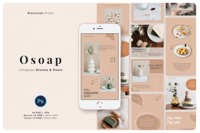 OSOAP Instagram Pack | PSD