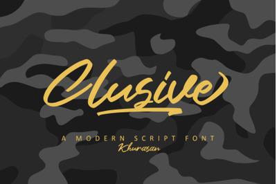 Clusive Signature