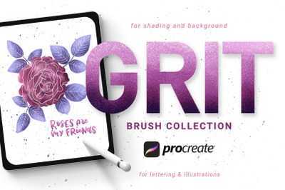 Grit Brushes for Procreate