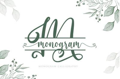 Monogram Calligraphy