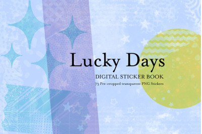 Lucky Days - Digital Stickers