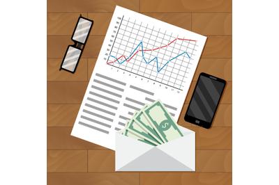 Analysis of payroll salary