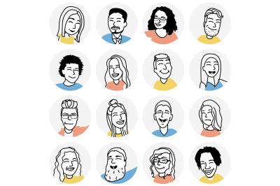 Funny people avatars