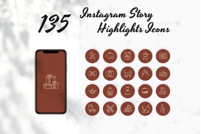 Copper Instagram Story Highlights