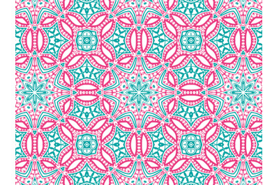 Pattern Abstract Pink And Blue Color