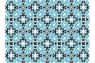 Pattern Abstract Navy And Blue Color Design
