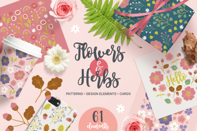 Flowers & Herbs Kit