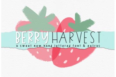 Berry Harvest Font & Extras
