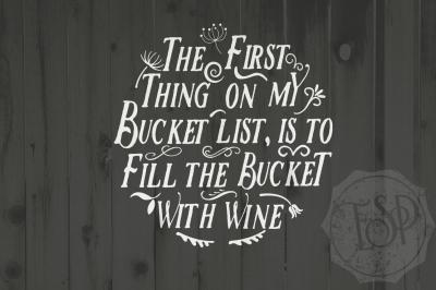 Wine cutting file, Wine SVG,  DXF cutting file, Printable PNG, Bucket List, Cutting File, Printable