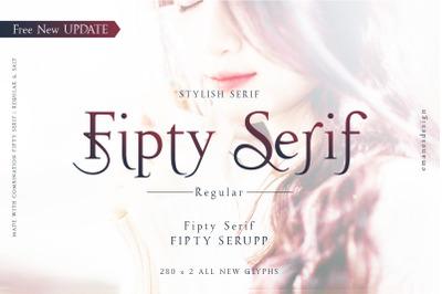 Fipty Serif Font Family