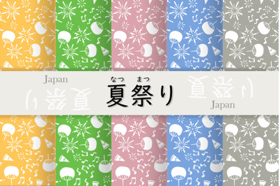 patterns of japan summer festivals