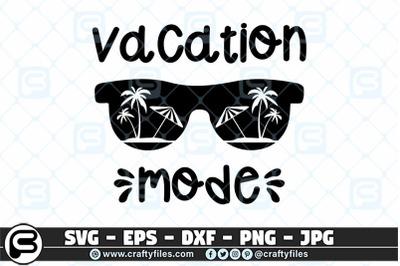 Beaching vacation mode SVG, Summer svg, sunglasses svg cut file