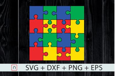 Autism Colorful Puzzle