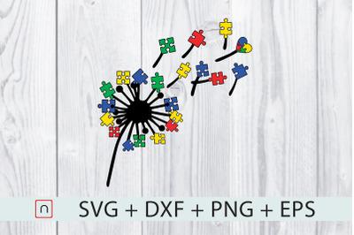 Dandelions Autism Puzzles Colorful