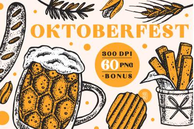 Oktoberfest. Digital prints, images.