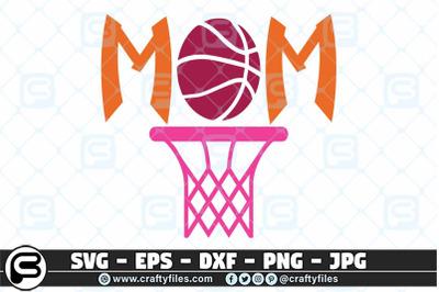 Basketball Mom SVG, Basket sport SVG cut file for cricut