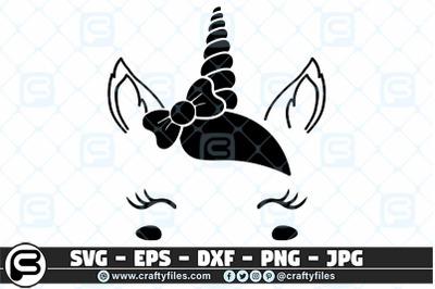 Bundle of 9 Unicorn Designs Face SVG, sweet unicorn SVG cut files