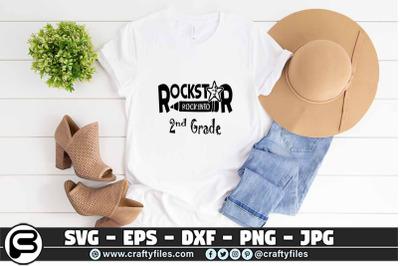 Bundle of Rockstar rock into shcool grade SVG, Back to school SVG