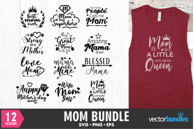 Mom bundle quote svg