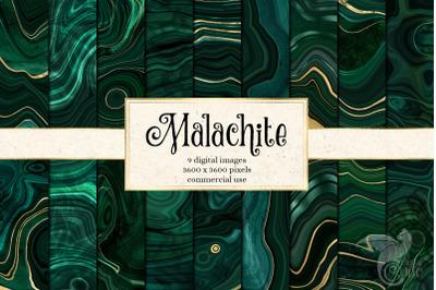 Malachite Textures