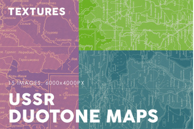 Duotone USSR Map Textures 1