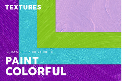 Colorful Paint Textures