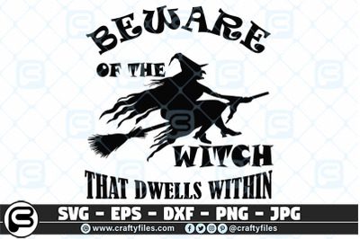 beware of the witch that dwells withing SVG cut files For cricut