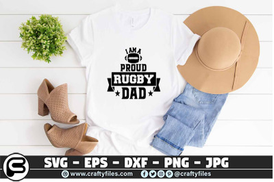 I am a proud rugby daddy SVG , Rugby SVG, DAD svg cut file