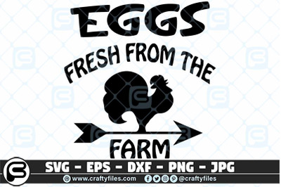 Chicken Egges frech From the from SVG cut file